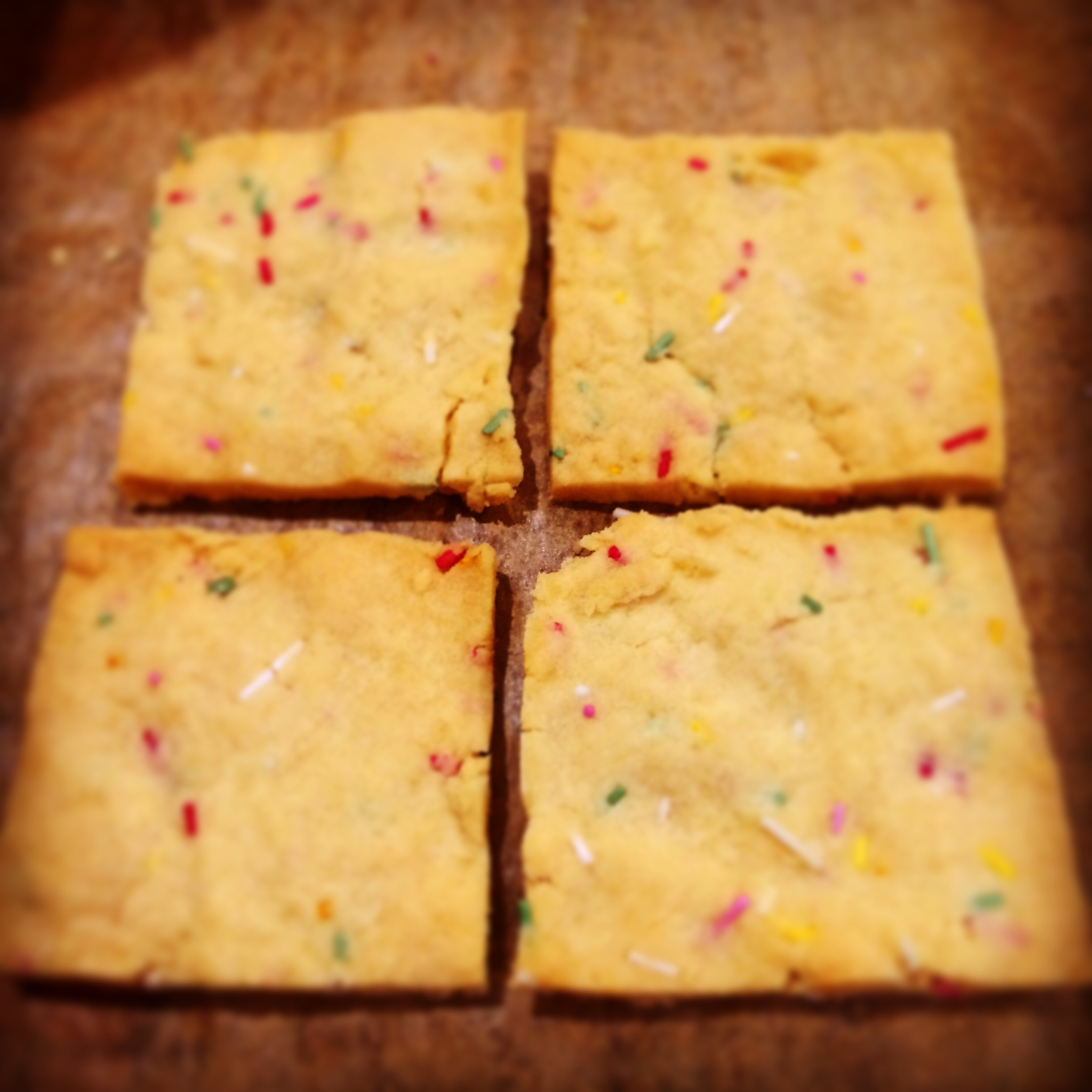 Fairy bite shortbread